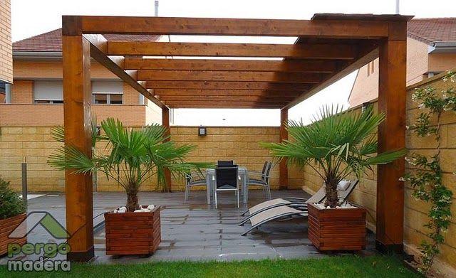 21 mejores im genes de porches modernos en pinterest for Cobertizo de madera de jardin contemporaneo