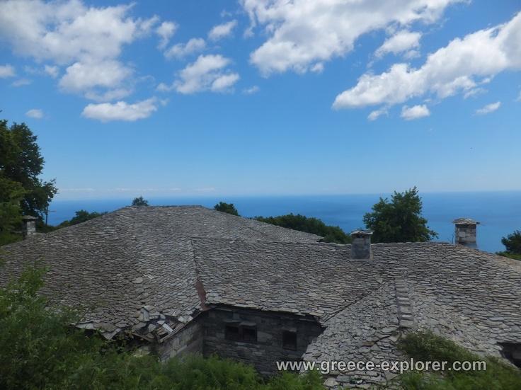 Village Zagora in Mount Pelion