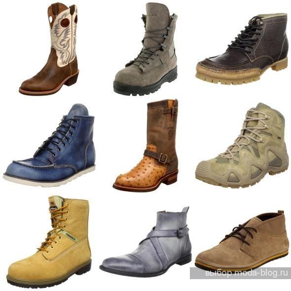 Обувь мужская в стиле вестерн
