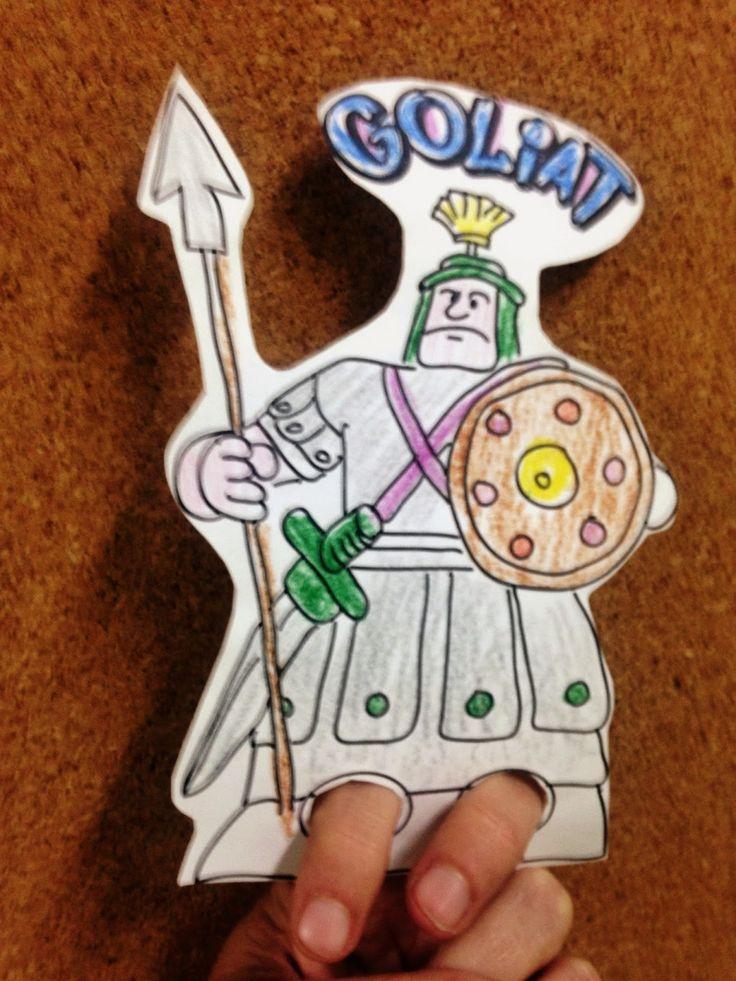 Si quieres aprender, ENSEÑA.: David y Goliat