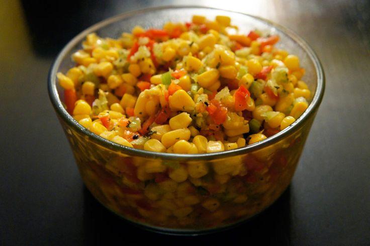 Salade de maïs simple