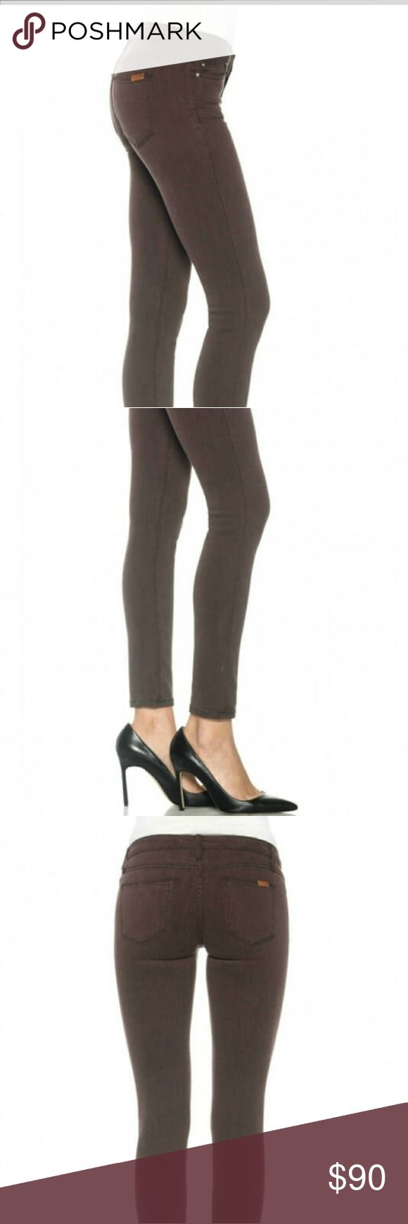 Joe's the Vixen skinny ankle New with tags. The Vixen ankle sassy skinny. Size 24. Color not as bright as in pictures. Approximately 12.5 inches across waist laying flat and 36 inches in length. 38 inseam. Color mustang. Joe's Jeans Jeans Skinny