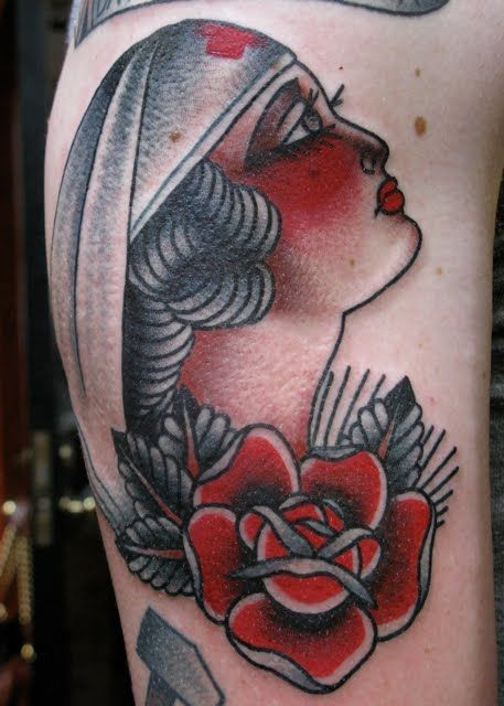 traditional nurse tattoo - Google Search