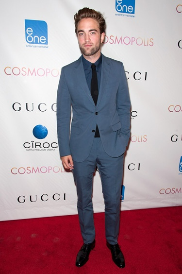 Well hello, handsome! Robert Pattinson's Gucci suit earned him a spot on our best-dressed list. // Best Dressed Celebrities Week of August 17th, 2012
