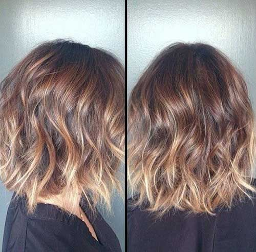 Gute Frisuren – 20 kurze blonde Haare Ombre