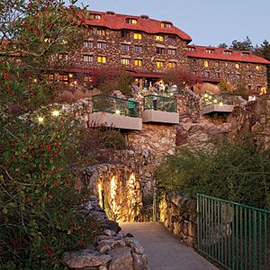 Stay at The Grove Park Inn | Asheville's Arts and Crafts crown jewel nestled in the Blue Ridge Mountains—hiking expeditions encouraged. Est. 1913