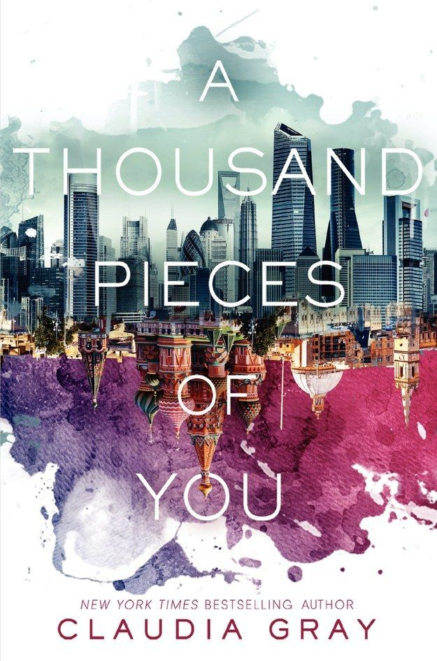 A Thousand Pieces of You by Claudia Gray   The 17 Best YA Book Cover Designs Of 2014