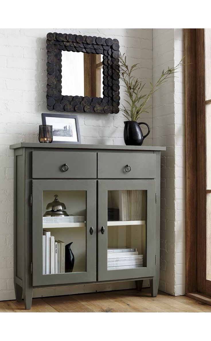 Stretto Varentone Entryway Cabinet | Crate and Barrel