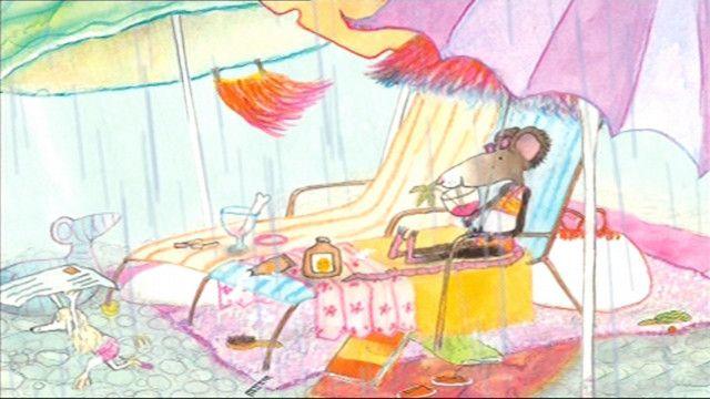 Mejuffrouw Muis aan de Costa del Sol (prentenboek uit Koekeloere).