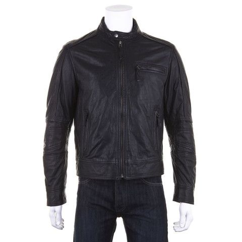 Woodland Leather Light Weight Biker Jacket