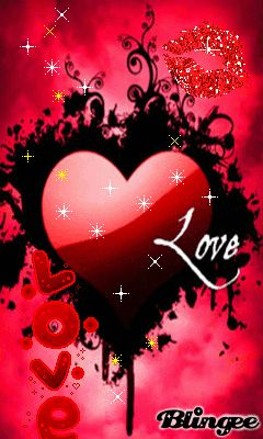 Download Animated 240x400 «CUORE» Cell Phone Wallpaper. Category: All for Girls