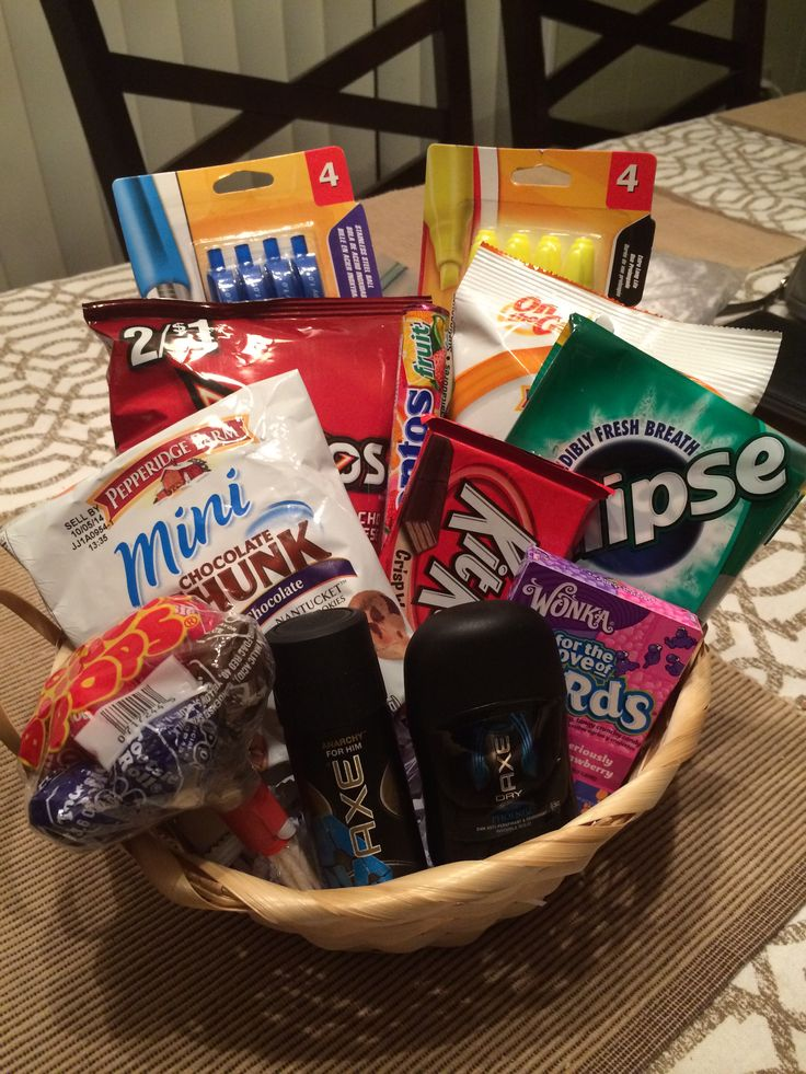 8th grade graduation gift for a boy gift basket ideas - Graduation gift for interior design student ...