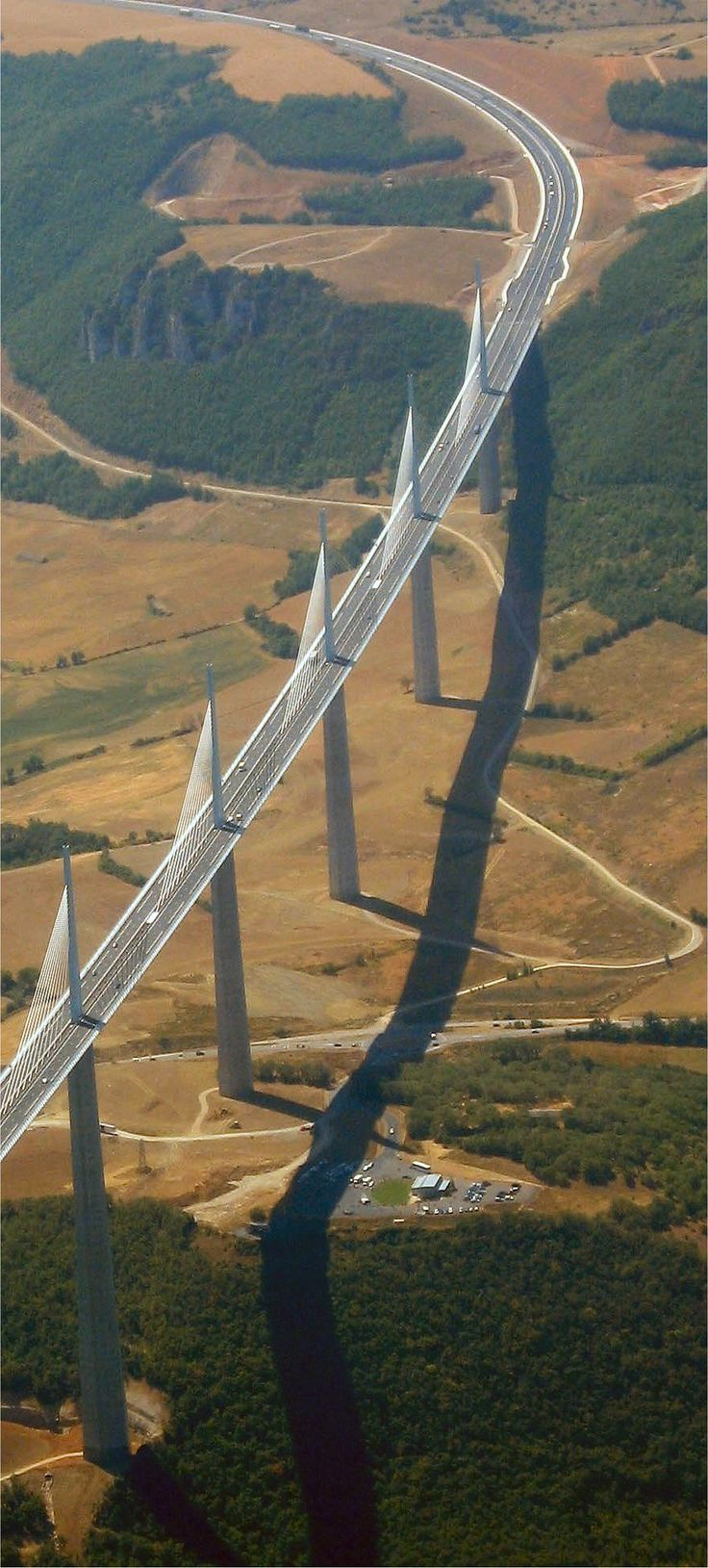 Aerial Photography - Milau Viaduct in France #aerialphotography #photography #france