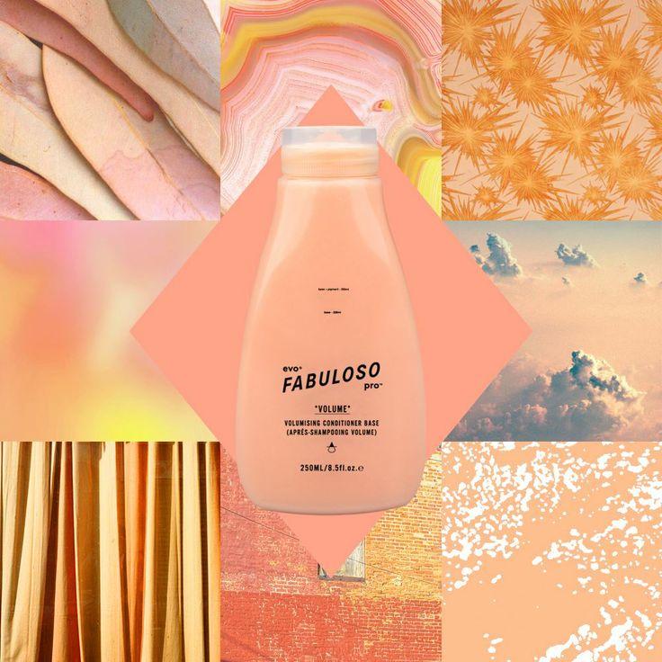 "evo® FABULOSO pro™ hair flavour #8401,""peach & kream""-230g cond+1g yellow+2g orange+17g cond."