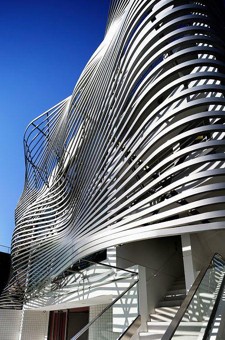 Les 484 meilleures images propos de architecture for Architecture parametrique