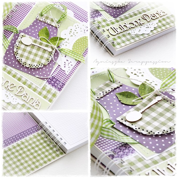 scrappassion: notebooks  Ideas to turn decorate all kinds of notebooks and journals