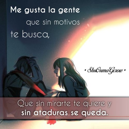 anime frases anime frases sentimientos ShuOumaGcrow amor mekaku city actors kagerou project