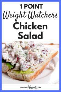 Weight Watchers Hühnchensalat – Tiefpunkte und lecker!   – Weight watchers sides