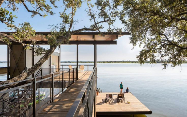 Escaping to This Lakeside Retreat Would Be Like Living in a Tree House