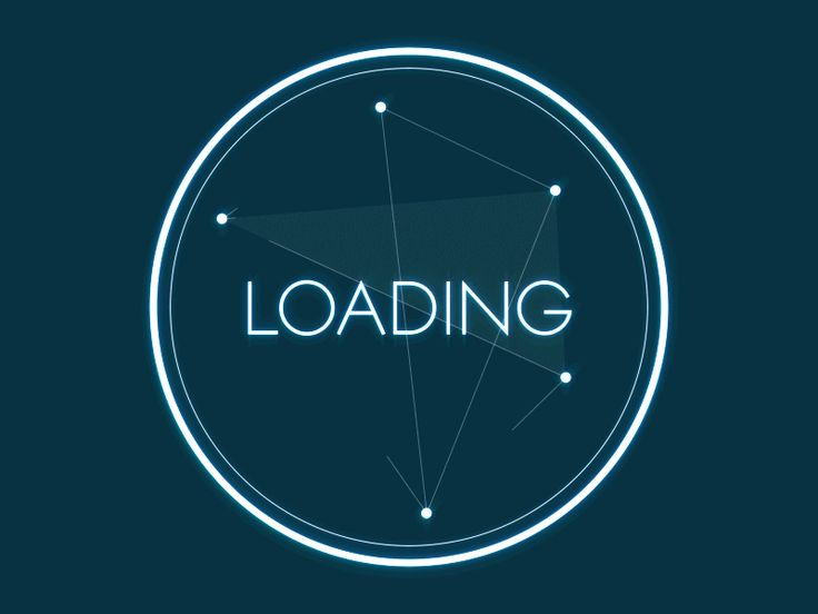 """Loading - UI Sequence GIF"" by Parker W Young - www.parkerwyoung.com"