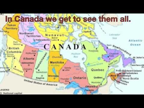 In Canada, we get to see them all . . .  a song about many of the Canadian symbols!