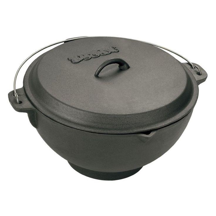 Bayou Classics Cast Iron Jambalaya Pot and Deep Fryer - 2.75 gal. - 7419