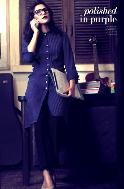Latest Winter Collection 2013 For Women By The Working Woman | Office Wear Casual Clothes 2013 - Fashion Trends Now