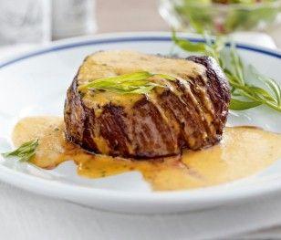 Filetsteak mit Sauce Café de Paris