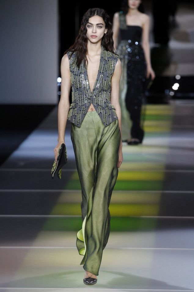 Giorgio Armani Fall 2014-2015 Ready to Wear FWMilán