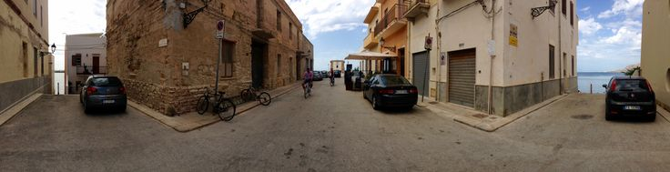 """DAY 10 - Trapani is an interesting non touristy city surrounded by the sea.  We took a plant walk through the historical centre and had lunch at """" 210 grammi"""" 210grammi.com"""