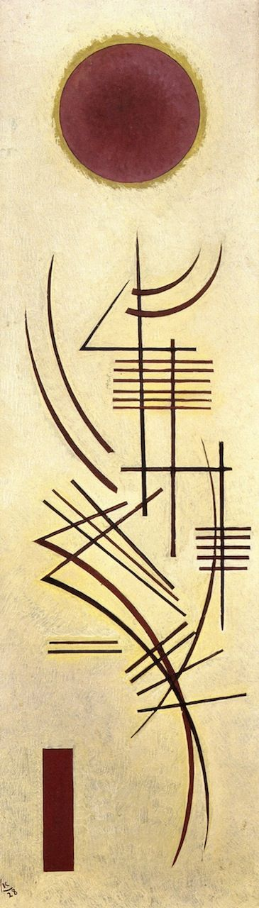 Dull-Clear,1928,by Wassily Kandinsky