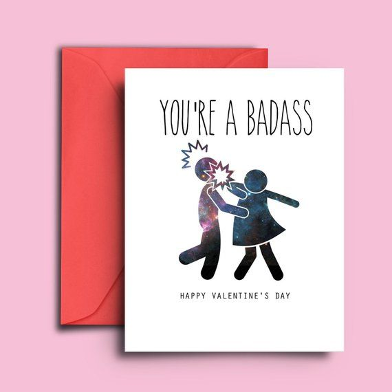 Funny Printable Valentine S Day Card For Women Coworker Best