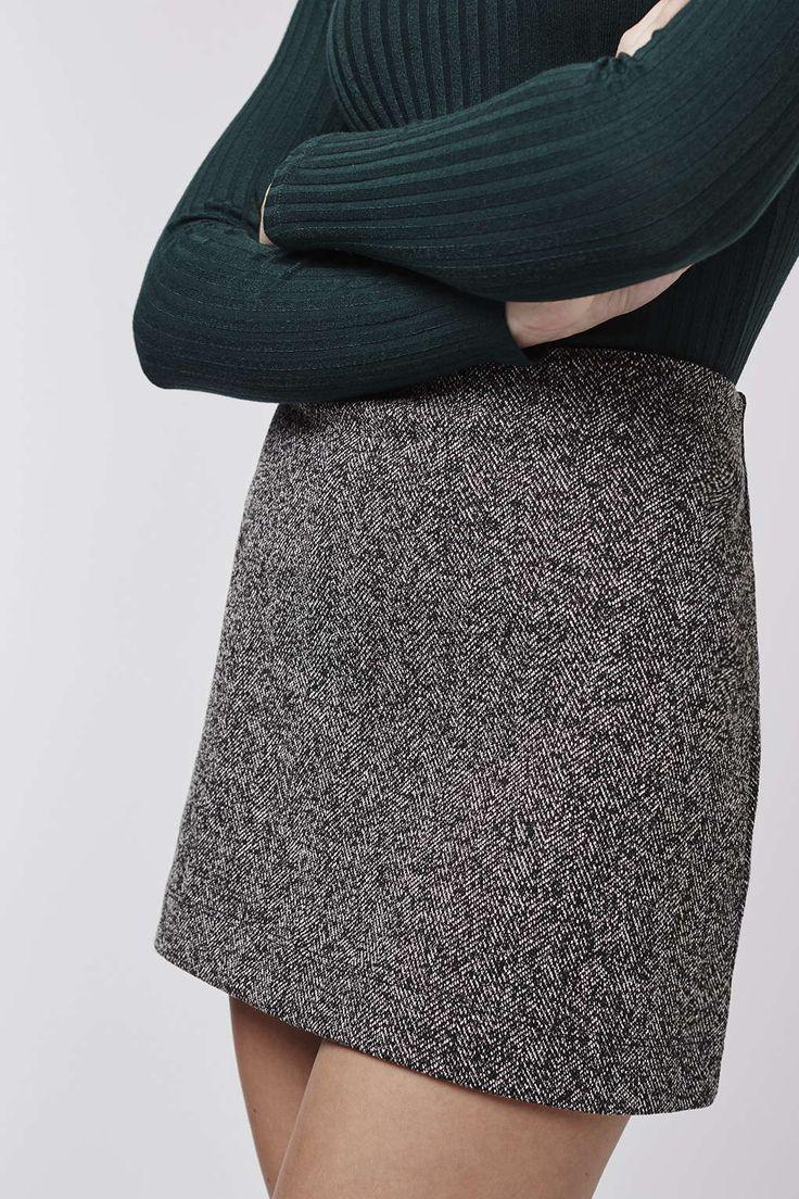 herringbone jersey a line skirt skirts clothing