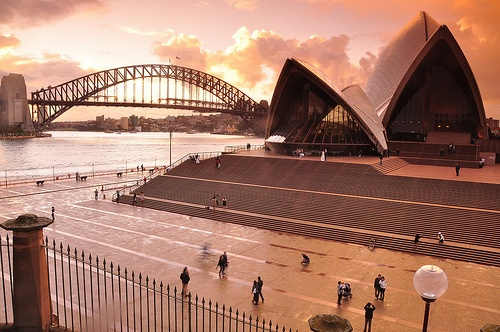 Sydney Opera House & Harbour Bridge by Keith McInnes Photography, via Flickr