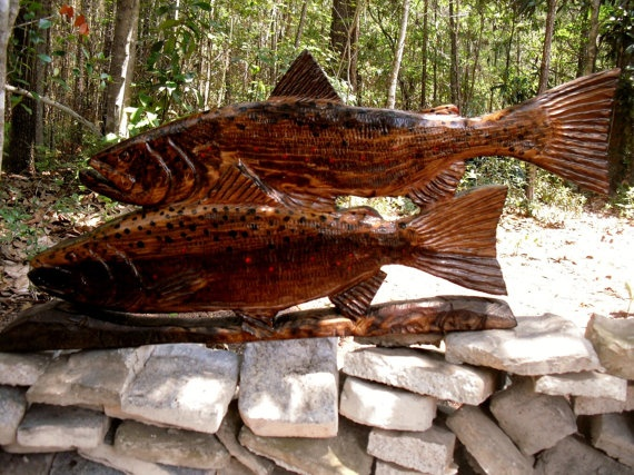 Carved with a chain saw!
