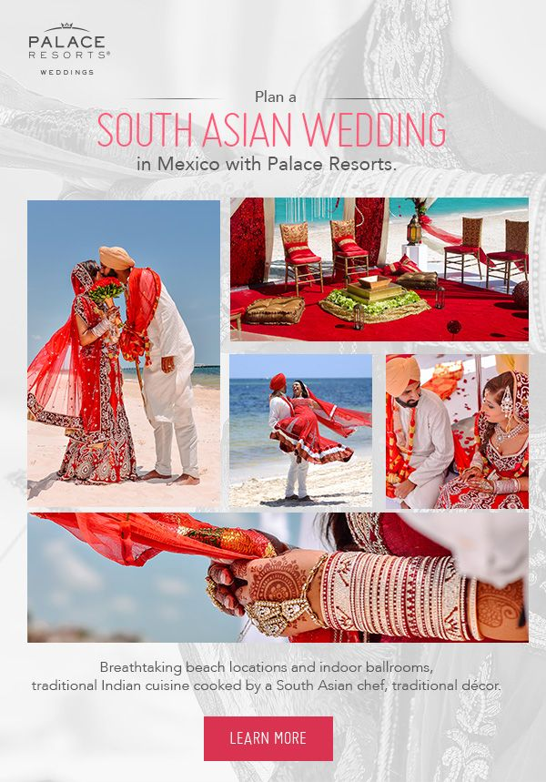 Celebrate your culture and your love in perfect harmony with an Indian wedding at a tropical paradise.
