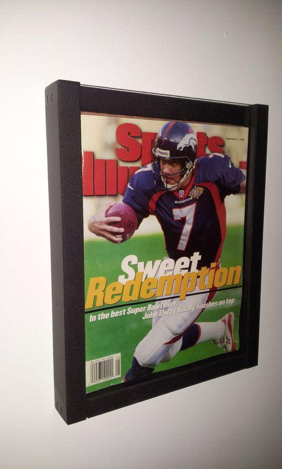 Magazine Sports Illustrated Display Frame Case Black
