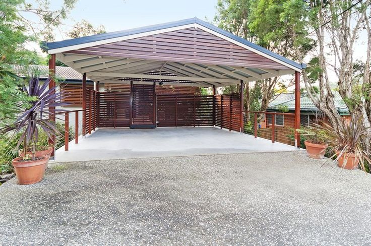 39 best carports gates and roller doors images on for Carport gate ideas