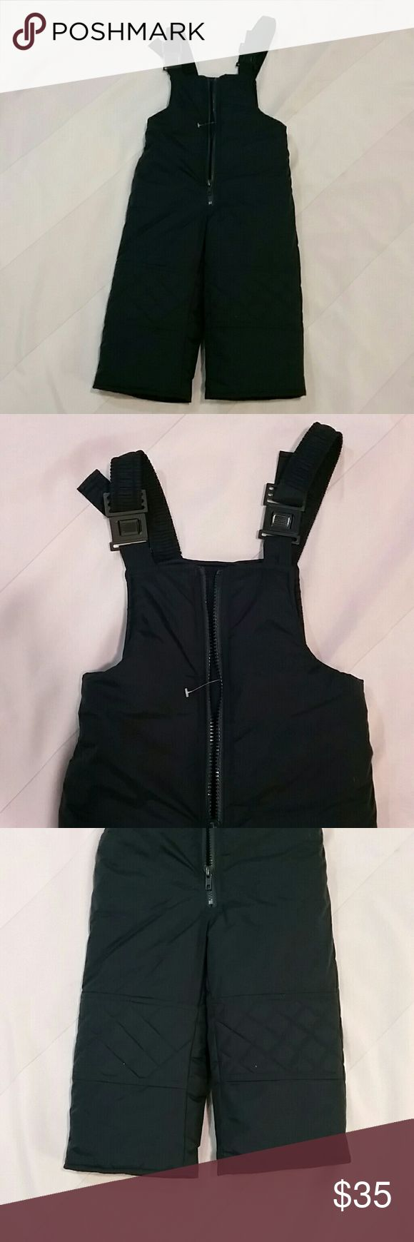 Kids Snow Ski Bibs Pants Suit size 3T P17. Very good condition. Deep dark Green color. Other