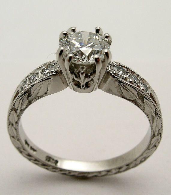 custom carved 10 iridium platinum 8 claw canadian