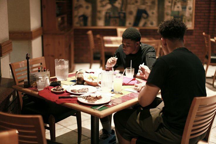 Steak house enjoy meal eating lemon ade chill daily life  벌칸 스튜디오 스테이크 소고기 일상 데일리 패션 느낌 일상 소통 남성복 남성브랜드 남자옷 컬쳐 문화 아트 워크