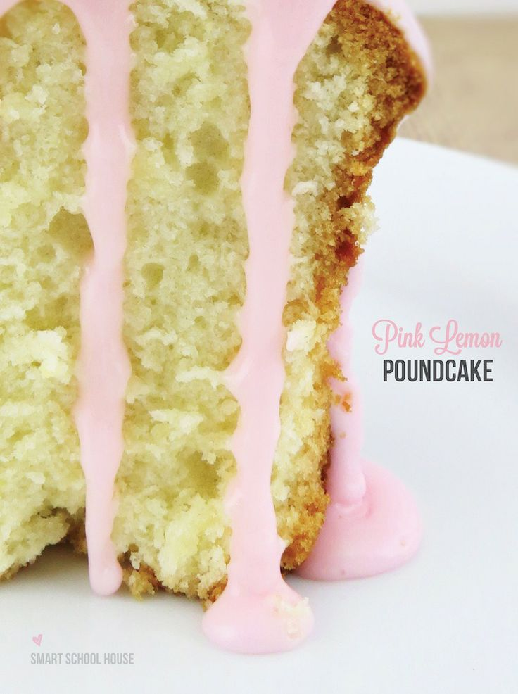 This DIY pink lemon pound cake recipe is one that will get you noticed! Whether you're hosting a birthday party, a baby shower, a wedding shower, a Valentine's Day party, or even a spring or summer soirée,THIS pretty pink pound cake will be a hit!