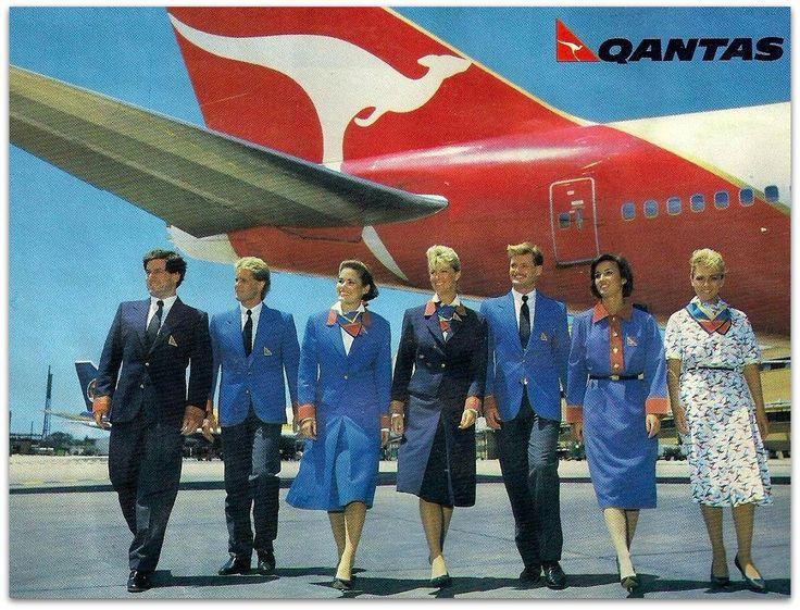 Qantas Uniforms. Ausairimages.com