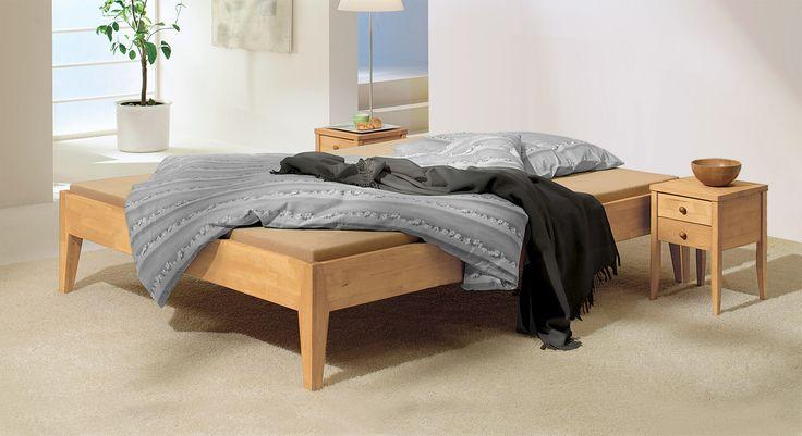 Günstiges Bett in 200x220 cm Größe - Liege Flora
