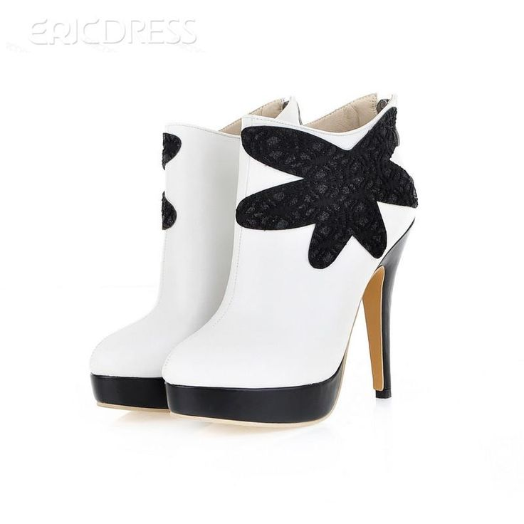 Brillant All-matched Stiletto Heels Boots 2