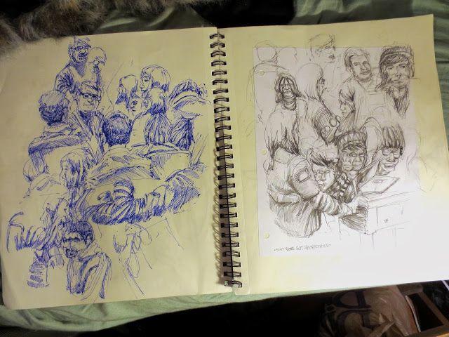 Robert Allen Burns's Drawmaggedon