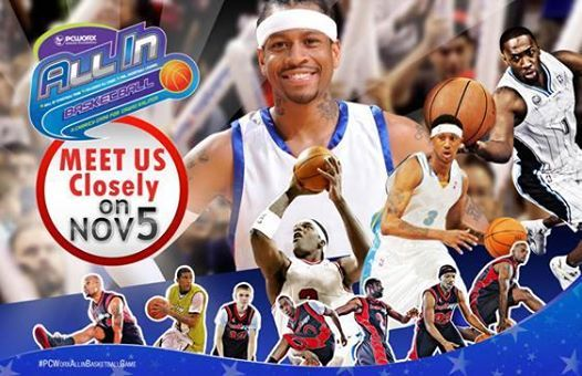 BE THE FIRST 500 LUCKY WINNERS TO WATCH COACH ALLEN IVERSON, GILBERT ARENAS, DERMARR JOHNSON, EDDY CURRY AND THE BALL-UP STREET BALLERS ON NOVEMBER 5!   BUY YOUR TICKETS NOW AT SM TICKETS AND PCWORX BRANCHES!!!   #PCWorxAllinBasketballGame