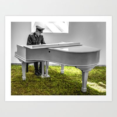 The piano passion. Art Print by TeddyGraphics - $17.68 on Society6