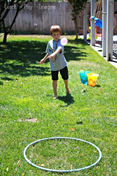 Math Games {Water Balloon Equations} ~ Learn Play Imagine