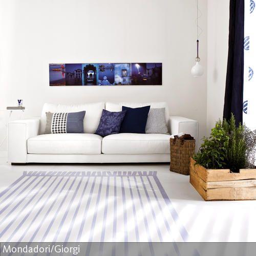 Ber ideen zu lila wohnzimmer auf pinterest - Eingerichtete wohnzimmer ...